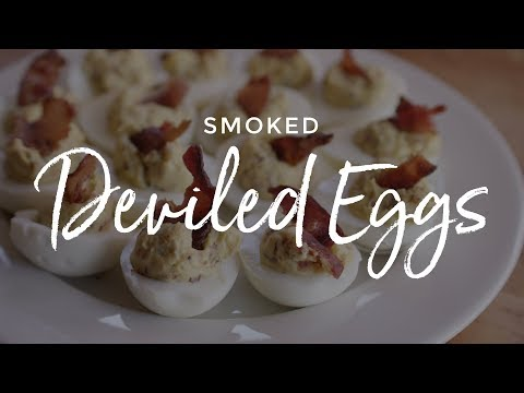 Smoked Deviled Eggs on the Yoder Smokers YS640