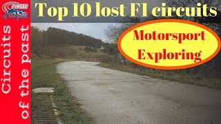 Top 10 lost F1 Circuits - Abandoned Formula One Tracks - Edition 1