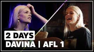 Davina Michelle: ''Een grote chaos, een grote achtbaan'' | 2 Days | #1 Day One