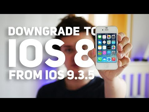 (2018) Downgrade iOS 9.3.5 to 8.4.1 - iPhone 4S