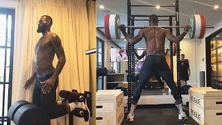 LeBron James Gets Ready For Lakers Season In the Gym After His Vacation!