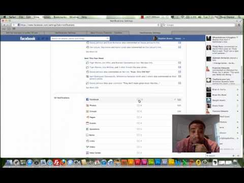 How to change Facebook notification settings.mp4