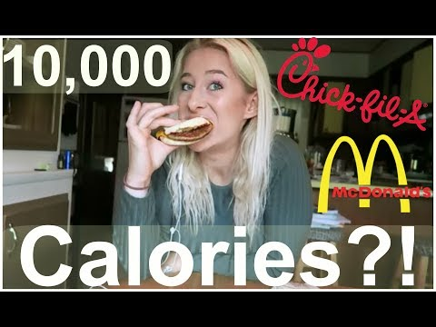 10,000 CALORIE CHALLENGE || Girl vs. Food || Epic Cheat Day