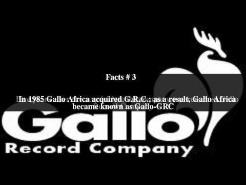 Gallo Record Company Top # 5 Facts