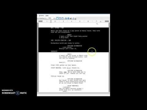 Screenplay Formatting 101: INTERCUT
