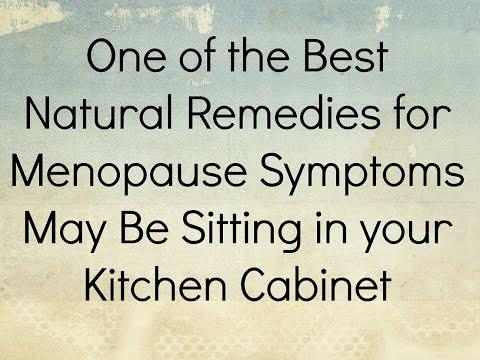 Natural Menopause Remedy
