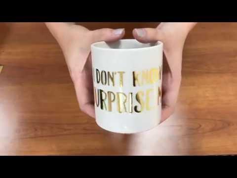 TRW Lab: Can You Press Foil to a Mug with a Mug Press?