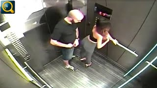 20 EMBRASSING AND WEIRD ELEVATOR MOMENTS CAUGHT ON CAMERA
