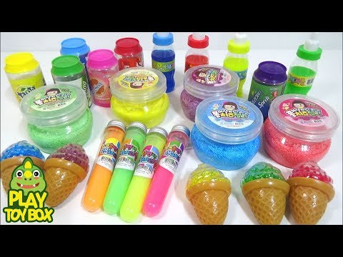 Combine All the Colors Sticky Form Cheese Jelly Slime Clay Orbeez Surprise Toys