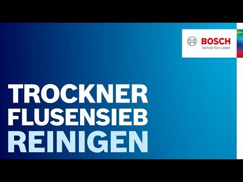Flusensieb reinigen: Anleitung und Tipps von Bosch