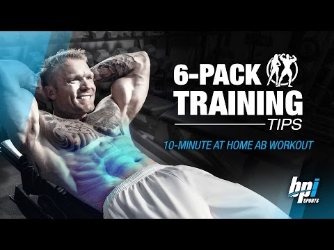 10 Minutes At Home Ab Workout - 6-Pack Training