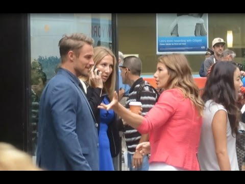 'Biggest Loser' trainers Jennifer Widerstrom & Jessie Pavelka after appearing on Today Show