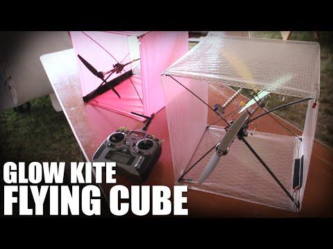 Flite Test | Glow Kite - Flying Cube