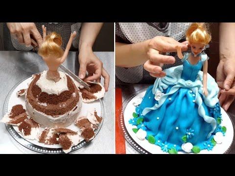 Barbie Doll Cake - How To Make by Cakes StepbyStep