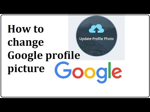 how to change google profile picture
