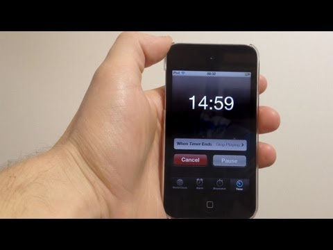 How To Set a Timer on the iPhone or iPod Touch