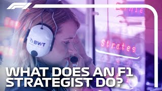 What Does An F1 Strategist Do?