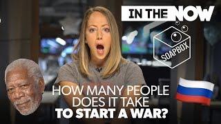 Morgan Freeman wages WAR 👿
