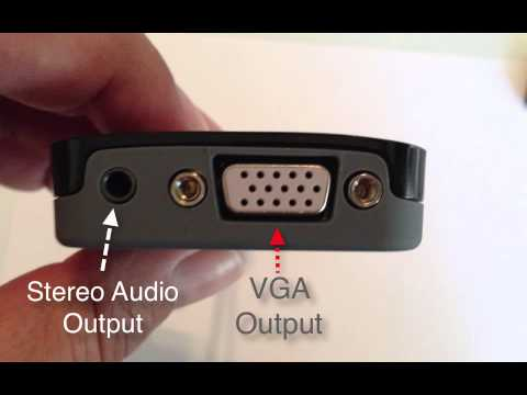 HDMI to VGA for AppleTV, Chromecast, Chromebooks and more!