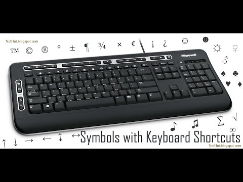 How To Make Symbols With Keyboard Funny Shortcuts With Key Board