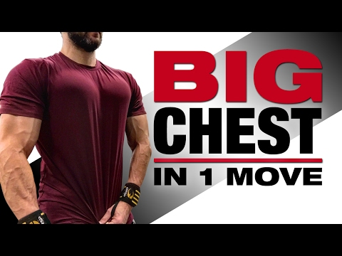 How to Get A Bigger Chest in 1 MOVE (INTENSE CHEST WORKOUT FOR MEN!)