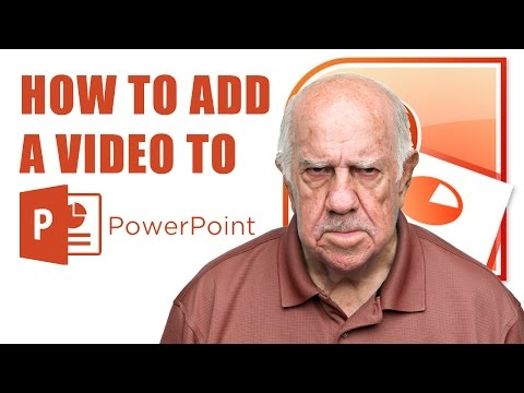 How to Insert a Video into PowerPoint Without a Link