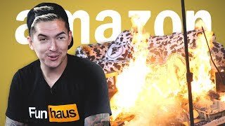 SALT SHOTGUN AND FIERY SURPRISES • AMAZON PRIME TIME