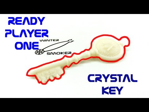 Ready Player One - Crystal Key in Fusion 360