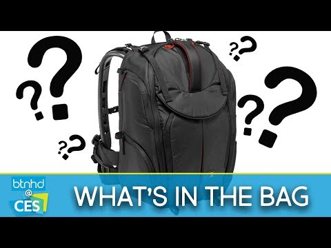 What's in the bag? | CES 2018