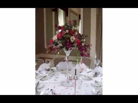 Martini Flower Arrangement