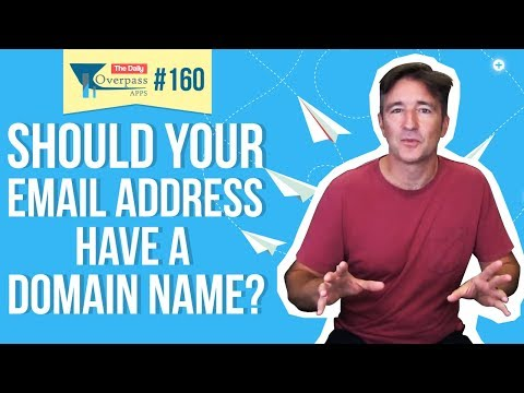 Should Your Email Address Have a Domain Name?