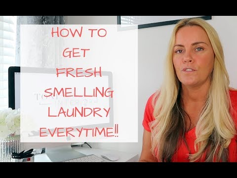 How to get great smelling laundry EVERYTIME! All products linked |