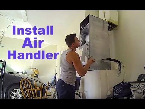 how to install ac air handler