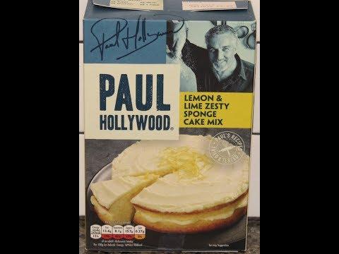 Paul Hollywood Lemon & Lime Zesty Sponge Cake Mix Preparation & Review