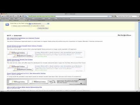 Copy RSS URL into TailoredRSS