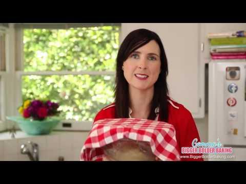 Dessert Pizza No Knead Brioche Dough Recipe   Gemma's Bigger Bolder Baking Ep 73