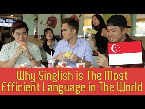 Why Singlish Is The Most Efficient Language In The World - TSL Comedy