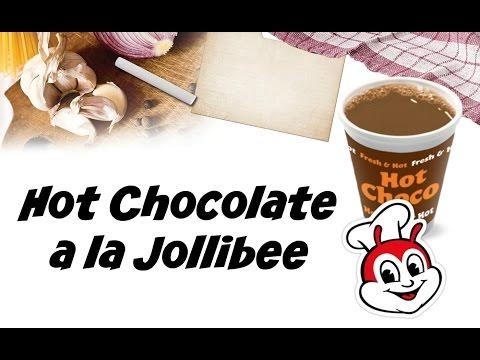 Hot Chocolate a la Jollibee - Recipe #1