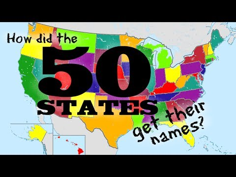 How did the 50 States get their names? United States Name Origins - FreeSchool