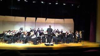 Lamphere High School Symphonic Band - Acclamation by James Curnow - A Pre-Festival Concert - 2/116/2011