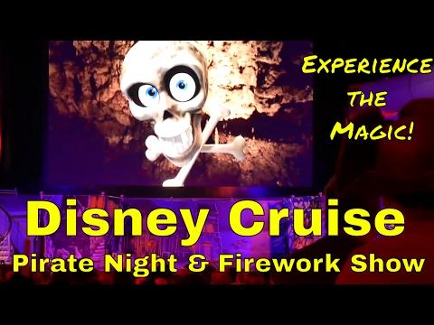 Disney Fantasy Cruise Pirate Night Firework Show