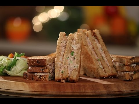 Tuna Sandwich | Not So Junky - by Chef Siddharth | Sanjeev Kapoor Khazana