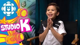 Tony Talks with Deric McCabe from A Wrinkle in Time | CBC Kids
