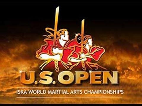 2013  ISKA US Open World Martial Arts Championships Baseball bat break with shin kick