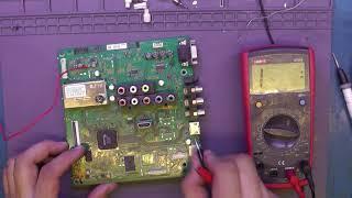 Телевизор Sony Klv-32bx301 после грозы. Есть ли смысл?