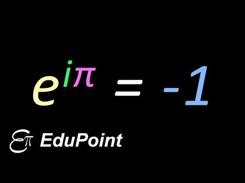 Euler's Formula and Euler's Identity || in HINDI