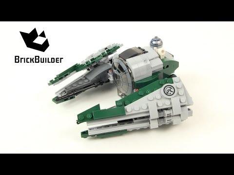 Lego Star Wars 75168 Yoda's Jedi Starfighter - Lego Speed Build