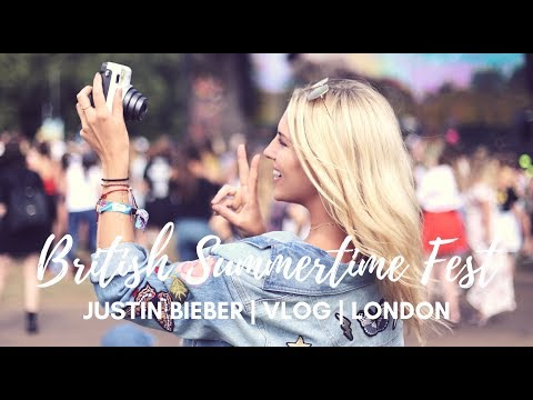VLOG: WE SAW JUSTIN BIEBER + SUMMER FESTIVAL VIBES || STYLE LOBSTER