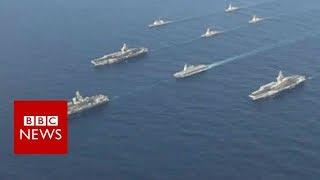 US displays military might near Korea - BBC News