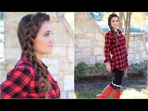 Easy DIY Dutch Side Braid | Cute Girls Hairstyles